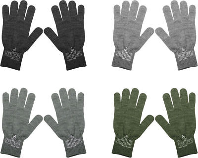 $9.99 • Buy Official Military Stamped D-3A Wool/Nylon Flexor Glove Liners USA Made