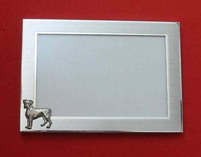 Boxer Dog Motif 4 X 6 Photo Picture Frame Pet Gift NEW • 15.99£