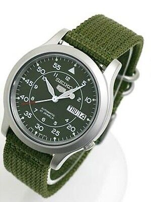 $ CDN163.10 • Buy Seiko 5 Sports Military Automatic Men's Watch SNK805K2