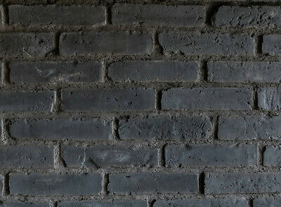 Brick Tiles | Old Brick Cladding Featured Wall Rustic Brick ANTHRACITE | SAMPLE • 3.90£
