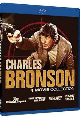 CHARLES BRONSON - 4 MOVIE COLLECTION  - BLU RAY - Sealed Region Free • 13.99£
