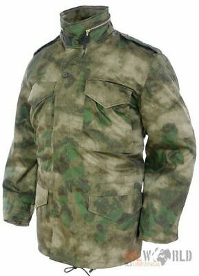 $70.90 • Buy Mil-Tec US Army M65 FIELD JACKET Mens W/ Thermo Liner Mil-Tacs FG Camo