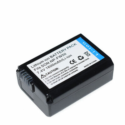 NP-FW50 Battery For Sony A6100 A6000 A6300 A6400 1500mAH • 7.99£