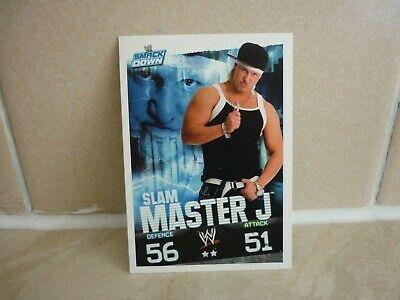 WWE Trading Card Slam Master J. ( Smack Down ) Slam Attax Evolution. • 0.99£