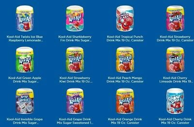 Kool Aid Drink Mix Tub (Strawberry & Orange) 19oz (538g) • 7.99£