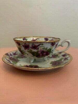 $4.99 • Buy Yada China Made In Japan Three-footed Cup And Saucer