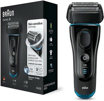 View Details Braun Series 5 5140 Men Electric Foil Shaver Wet/Dry Rechargeable Cordless Razor • 99.98£