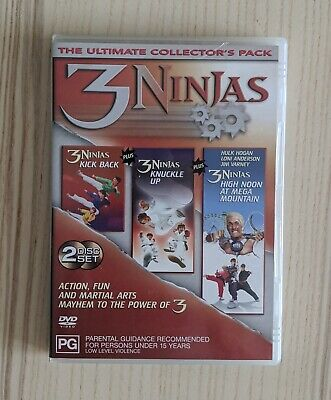 AU13 • Buy 3 Ninja Ultimate Collection Pack Dvd 2 Disc Free Post