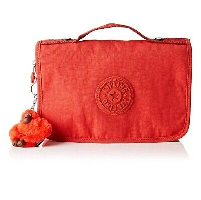 £29.99 • Buy Kipling Large Toiletry Bag With Hook Nabba Active Red Cosmetic Travel Bag Rrp£54