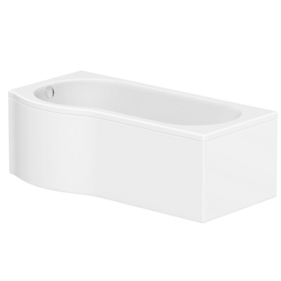 Acrylic P Shaped Bath Front Panel -1700mm BeBa_24900 • 126.97£