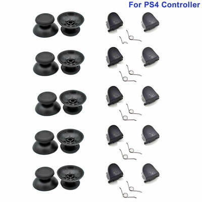 AU7.24 • Buy 5 Pairs For PS4 Controller Thumb Sticks L2 R2 Trigger Buttons Accessories