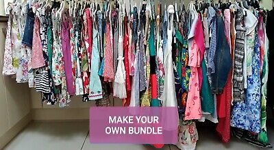 Girls 3/4 Years Clothes Make Your Own Bundle All Mixed Brands • 3£