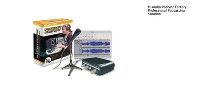 $75 • Buy M-Audio Podcast Factory Professional Podcasting Solution
