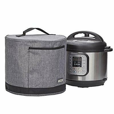 $26.99 • Buy Dust Cover With Pocket Compatible Instant Pot 3 Quart Pressure Cooker Cover Grey