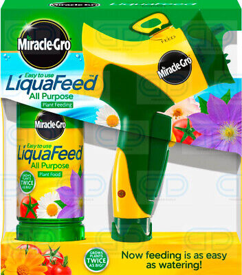 Miracle-Gro Liquafeed Advanced Hose Feeder Starter Kit All Purpose Plant Food • 17.99£