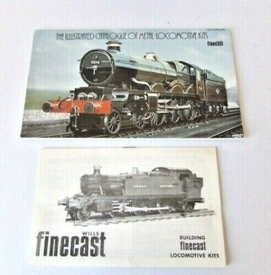 Wills Fine Cast Metal 00 Gauge Locomotive Kits Catalogue & Price List • 15.99£