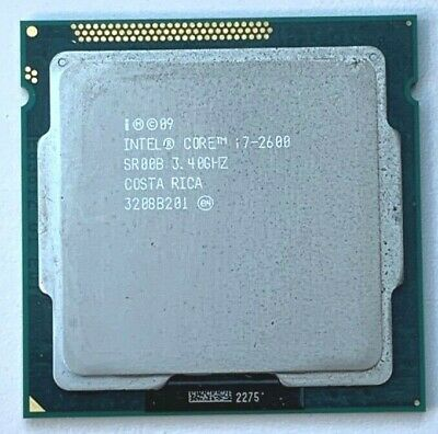 ➔ Intel Core I7-2600 3.4Ghz LGA1155 Processor CPU SR00B Single CPU *AU Stock* • 71.70£