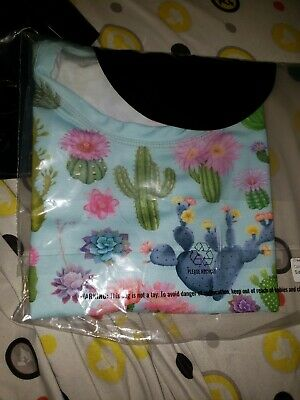 $43.50 • Buy Black Milk Clothing BNWT Size M Still In Plastic Crazy Plant Lady Tie Front Top