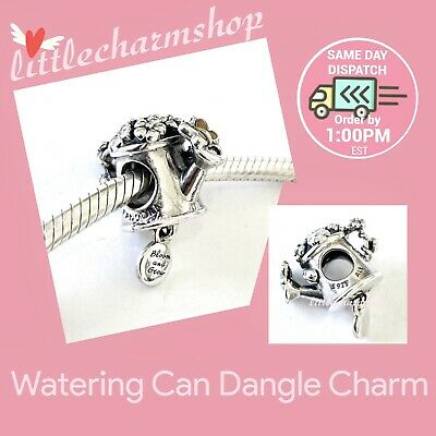 AU58.65 • Buy New Authentic PANDORA Silver Watering Can Hanging Charm - 797873ENMX RETIRED