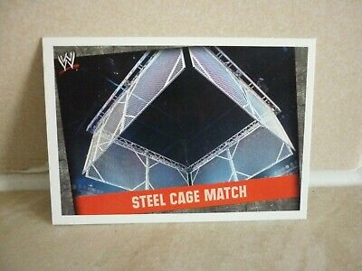 WWE Trading Card Steel Cage Match. ( Match Type ) Slam Attax Evolution. • 0.99£