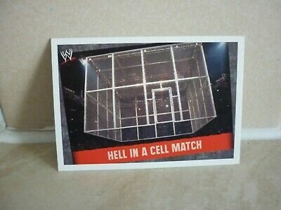 WWE Trading Card Hell In A Cell Match. ( Match Type ) Slam Attax Evolution. • 0.99£