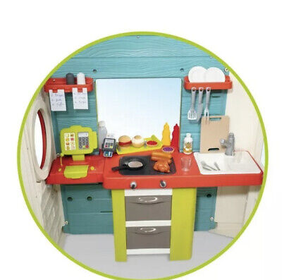 Smoby Chef Playhouse Play Kids House Wendy Garden Outdoor Cooking Shop Brand New • 389.99£
