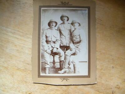 WW1 British Soldiers / Troops Royal Artillery In Pith Helmets • 9.99£