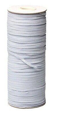 $ CDN26 • Buy Fast Flat Round Elastic Band Mask 1/8 1/4 3mm 4 5 6 White Black From Canada New