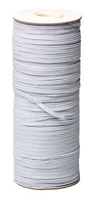 $ CDN17 • Buy Fast Flat Round Elastic Band Mask 1/8'' 3mm 4mm 5mm White Black From Canada New