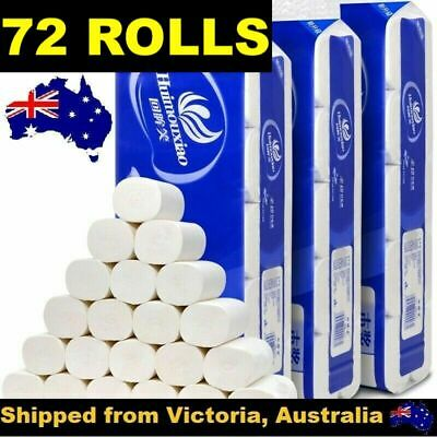 AU53.95 • Buy 72 Rolls Toilet Paper Soft & Strong High Quality Bulk Tissue 4 Ply Au Stock