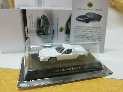 $ CDN9.65 • Buy Kyosho - LOTUS Minicar Collection - Europa Special - White - 1/64 - Mini Car
