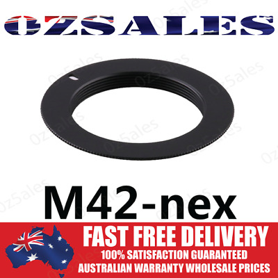 AU5.99 • Buy M42-NEX Mount Adapter For M42 Lens To Sony E-mount NEX-7 NEX-5 NEX-3