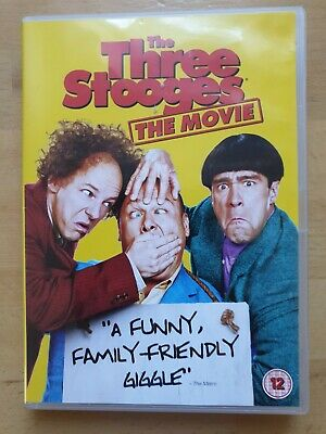 The Three Stooges The Movie Dvd  3 Stooges Comedy  • 12.99£