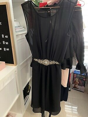 AU30 • Buy Forever New Black Dress Size 10