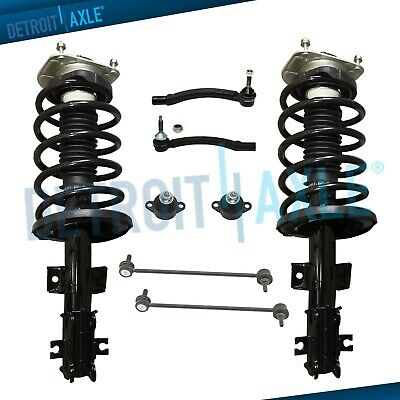 $147.60 • Buy 8pc Front Struts Sway Bar Outer Tie Rods Lower Ball Joints For Volvo V70 S80 S60