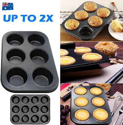 AU17.50 • Buy Non Stick Muffin Pan Chocolate Cake Cookie Cupcake Baking Mold Mould Donut Tray
