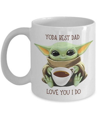 $15.99 • Buy Baby Yoda Yoda Best Dad, Coffee Mug, Fathers Day Gift