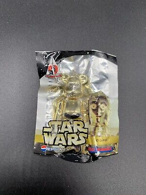 $27.99 • Buy Star Wars Celebration Japan Bearbrick Medicom Pepsi Nex C3PO Keychain Brand New