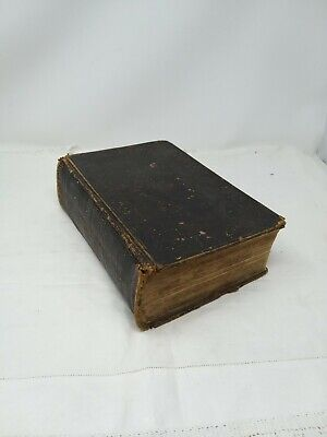 Antique British And Foreign Bible Society Holy Bible Eyre & Spottiswoode 1837 • 40£