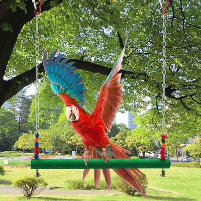 Chicken Swing Perch Toy Hens Bird Parrot Macaw Play Stand Training Toy Playstand • 12.99£