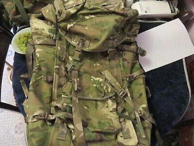 British Army MTP 120l Bergen  Longback With Side Pouches • 30£
