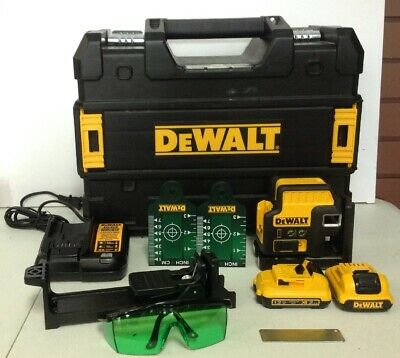$399.99 • Buy DEWALT-12-V MAX Li-Ion 100 Ft. Green Self-Leveling 2-Spot & Cross Line Laser