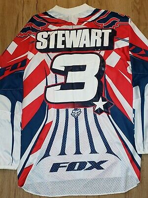 $300 • Buy Rare!! Team USA, James Bubba Stewart Motocross Of Nations Replica Jersey.