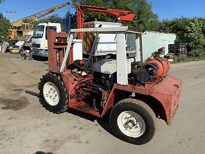 Manitou Buggie Buggy 2 Ton Rough Terrain Forklift Fork Truck 926 • 2,850£