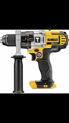 $61 • Buy DeWalt DCD985B 20V MAX Lithium Ion Premium 3-Speed Hammer Drill MADE IN THE USA