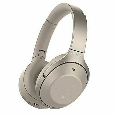 AU519.51 • Buy SONY WH-1000XM2 Wireless Noise Cancelling Stereo Headphones Champagne Gold NEW
