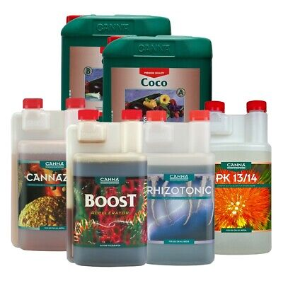 Canna Calmag PK 13/14 Boost Rhizotonic Cannazym  250ml 1 Litre 5L • 8.39£