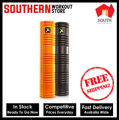 AU109.99 • Buy Trigger Point Therapy Grid 2.0 Foam Roller (66cm) FREE SHIPPING