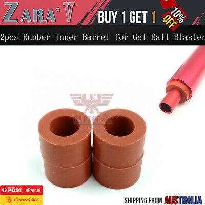 AU8.48 • Buy 2pcs Rubber Stabilisers For Inner Barrel 9.5mm OD Gen 8 J9 M4A1 Gel Ball Blaster