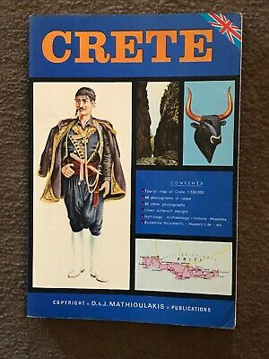 Book. CRETE. Tourist Guide To Crete By Chr. Z. Mathioulakis. • 3.66£